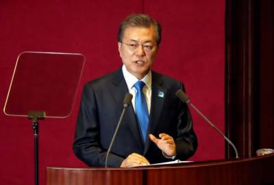 South Korean president says cannot recognize North Korea as nuclear state