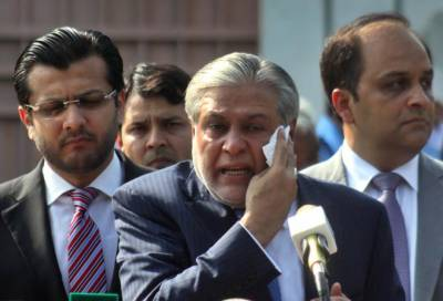 Court resumes graft hearing, Dar fails to appear