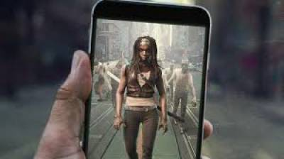 'Walking Dead' zombie game seeks Pokemon-style success