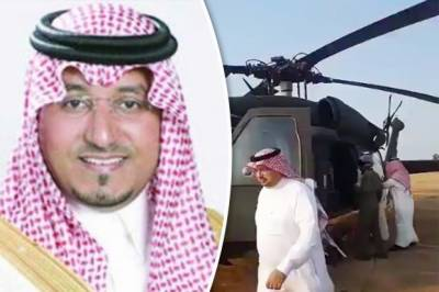 Helicopter crash near Yemen border claims lives of Saudi prince, officials: Arab media
