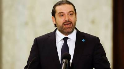 Outgoing Lebanese PM Hariri leaves Saudi, meets Abu Dhabi crown prince