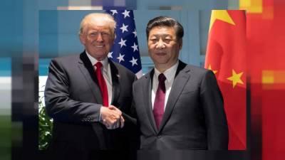 Trump presses China on North Korea and trade