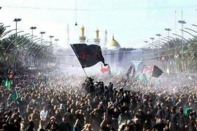Chehlum of martyrs of Karbala, Hazrat Imam Hussain (RA) being observed today