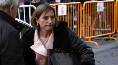 Independence bid allegation: SC frees Catalan parliament speaker