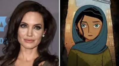 Angelina's animated film about Afghan girl to release this month