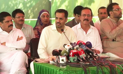 Establishment called PSP to meet MQM-P at Farooq Sattar's request: Mustafa Kamal