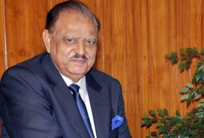 President Mamnoon meets CII chief Allah Bakhsh Kalyar