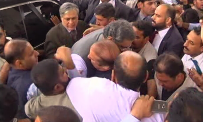 PM Abbasi arrives in Lahore to meet ousted PM Nawaz Sharif