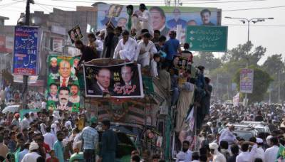 Ousted PM Nawaz to address public gathering in Abbottabad