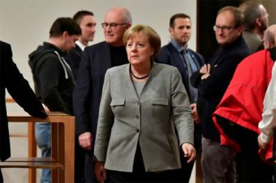 Merkel fails to form govt. as coalition talks fail