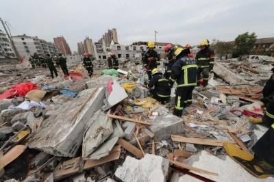 Huge blast in China's Ningbo city kills at least two, police probe cause