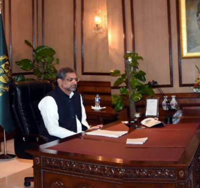Terrorist groups present in Afghanistan, not Pakistan: PM Abbasi