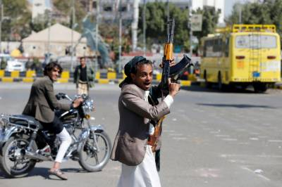 Saudi-led coalition provides air support for Yemen's Saleh