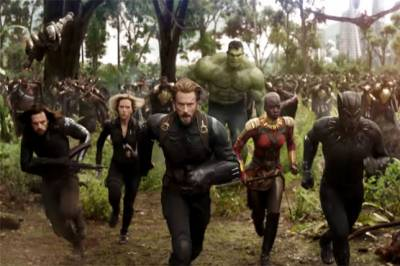 Marvel's biggest cast assemble for 'Avengers: Infinity War'