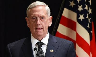 US Defence Secretary James Mattis arrives in Pakistan