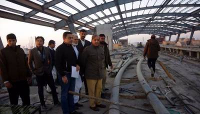 CM Punjab Shehbaz visits Orange Line project, hails SC verdict