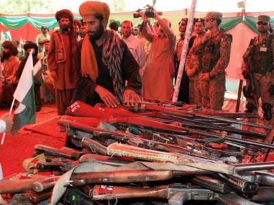 More than 300 militants lay down arms in Balochistan