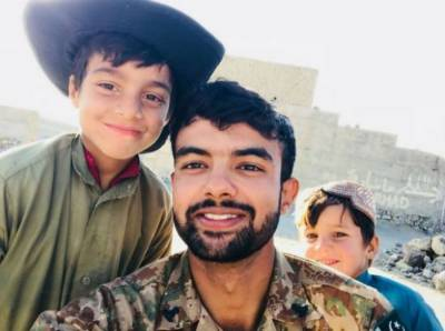 Martyrdom Second Lieutenant Abdul Moeed buried at Cavalry Ground graveyard
