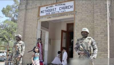 8 killed, dozens injured in suicide attack on Quetta's Church