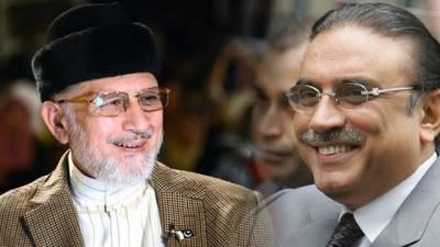 Ex-President Zardari to meet Tahir-ul-Qadri on Thursday
