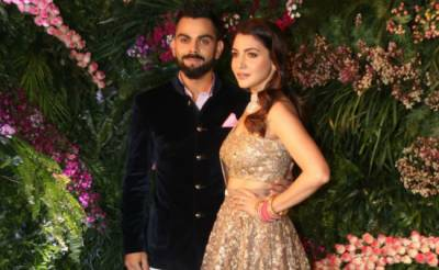 Virushka's reception: huge gathering of Bollywood celebrities join them (videos, pics)