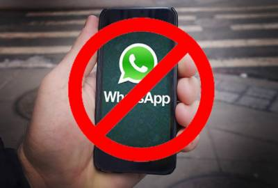 Whatsapp to say Goodbye from 1st January