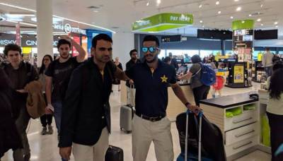Greenshirts arrives in New Zealand for ODI, T20 series