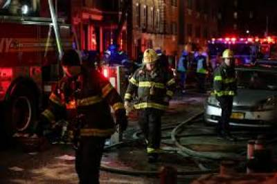 New York City apartment fire kills 12, injures several others