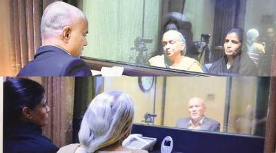 Jadhav claims Indian diplomat threatened mother during meeting