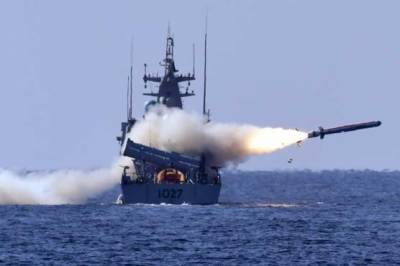 Pakistan Navy test fires indigenously built Harbah Naval Cruise Missile