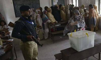 Polling for PP-20 Chakwal by-elections underway