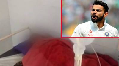 Virat's '5 score' takes life of die heart fan
