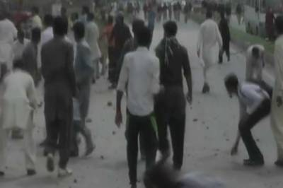 Minor girl rape, killing case: Two protesters injured in clash with police