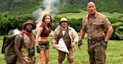 'Jumanji' dominates the North American box office