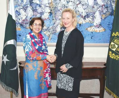 Senior US official, Tehmina Janjua discuss regional security issues