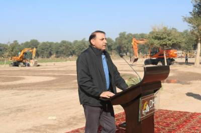 DHA Bahawalpur's main access road, gate to be completed in 6 months: Brig Shahid