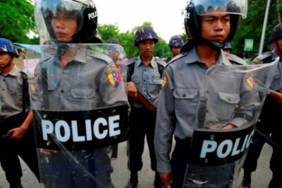 Myanmar police shoot dead seven protesters in troubled Rakhine
