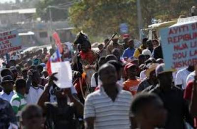 Haitians stage protest, mock Trump over 'shithole' comments