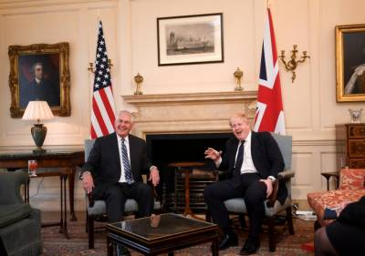 US needs to pay attention to relationship with Britain: Rex Tillerson
