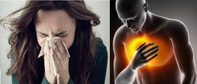 Flu increases risk of heart attack