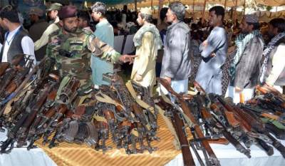 More than 200 militants lay down arms in Balochistan