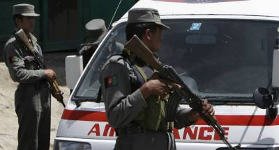 Blasts heard near military academy in Kabul: police, witness