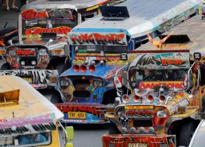 Philippines to phase out cheap but rickety 'jeepneys'