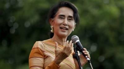Petrol bomb thrown at Aung San Suu Kyi's home
