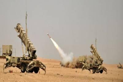 Saudi Arabia downs Houthi ballistic missile targeting Khamis Mushait