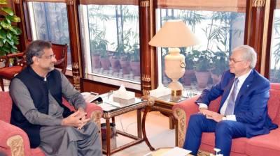 SCO head Rashid Alimov meets PM Abbasi