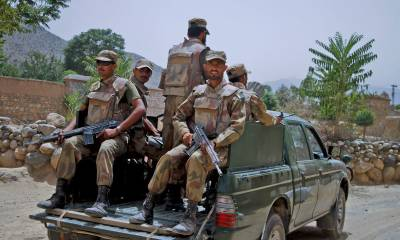 Two soldiers martyred, 3 injured as military vehicle comes under attack in North Waziristan