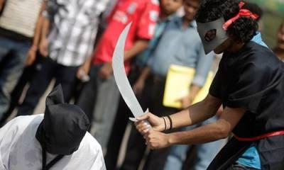 Four Pakistanis beheaded in Saudi Arabia for murder, rape