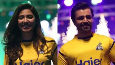 Mahira, Hamza Abbasi become Peshawari Zalmi ambassadors