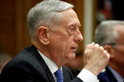 Pentagon chief urges Turkey to stay focused on fighting IS